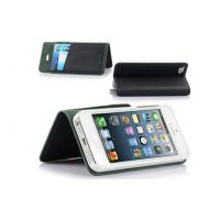 China Detachable Wallet Leather Apple iPhone Case With Standing , OEM Mobile Phone Cover on sale