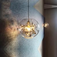 Buy cheap Nordic Glass Suspension hanging Lights Kitchen Indoor House Dining room Pendant from wholesalers