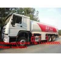 HOT SALE!high quality and bottom price SINO TRUK HOWO 20,000Liters bulk oil tank truck/ diesel tank delivery truck Manufactures