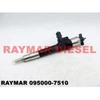 Black Denso Diesel Fuel Injectors 095000-7510 For KUBOTA V6108 1G410-53050, 1G410-53051 Manufactures