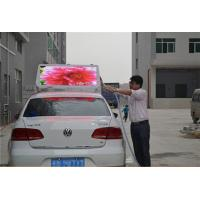 Buy cheap Double Sides Advertising Taxi Top LED Display Full Color , P6 Led Taxi Roof Signs Waterproof from wholesalers
