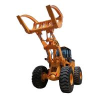 BENE hot sale atv log grap loader with Cummins engine 8ton/10ton/12ton15ton wheel loader with grapples attachments Manufactures