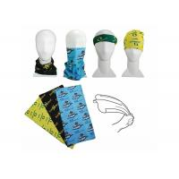 Customized Face Shield Mask Fishing , Seamless Connect Fishing Scarf Sun Protection Manufactures