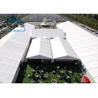 Movable Design Trade Show Tents With Clear PVC Fabric / VIP Cassette Flooring Manufactures