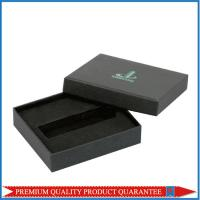 matte black custom logo printing paper gift box top and bottom style fashion design Manufactures