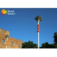 20W High Pole Integrated Led Street Light With Solar Panel , Solar Parking Lot Lights Manufactures