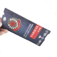 OK3D Custom 3D Soft Plastic Luggage Tag Rubber PET Luggage Tag Printed String Tags for garments and shoes Manufactures