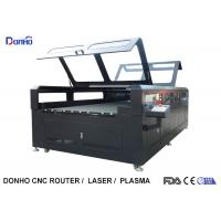 Double Protective Cover Co2 Laser Cutting Machine For Fabric / Crystal / Acrylic / Wood Manufactures