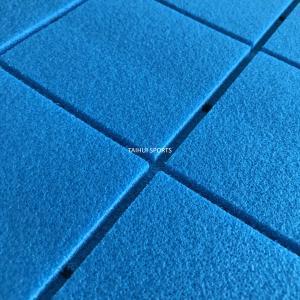 China Golf Lawn Two Sides Grooved PE environmental fake Turf Shock Pad UV Resistant Flooring Carpet 3 Layers IGF Standard on sale