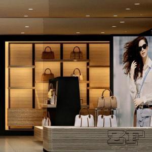 Handbag display rack for bags store decoration Manufactures