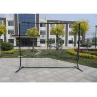 "Quality outer frame1""/25mm*1.5mm wall thick 6ft height x 9.6ft width spacing 2""x4'x11ga polyester coated green for sale"