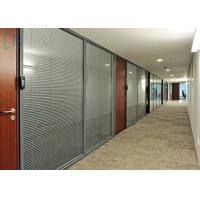 Comercial Division Aluminium Wall Partition For Office With Laminated Glass Manufactures