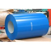Buildings Roofing Systems Prepainted Galvalume Steel Coil Blue For Steel Tiles Manufactures
