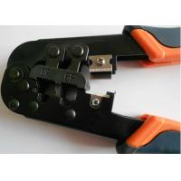 Network RJ45 CCTV Installation Tools ,CAT5 Wire Cutting Stripping Crimping Tool Manufactures