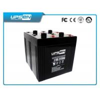 Maintenance Free 12V 200ah Sealed Lead Acid Batteries For Emergency Lighting Equipment Manufactures
