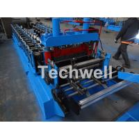 0.8-1.5mm Thickness Cold Roll Forming Machine For Making Traverse Machine With Motor 11KW Manufactures