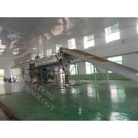 DWF Series Conveyor Belt Dryer Gas Heating Touch Screen Control 50 - 140 ℃ Manufactures