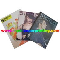 China customize fashion period /monthly magazine printing on sale