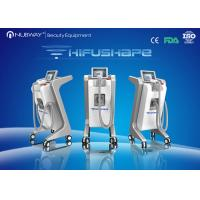 China Multi-cooling 500W Vertical HIFU Machine Effective For Body Shaping on sale