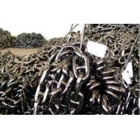U2 / U3 Grade Heavy Marine Anchor Chain , Offshore Mooring Chain 12mm-120mm Diameter Manufactures