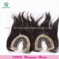U-part Lace top closure 4''x4''malaysian virgin hair natural color 10''-24''L straighthair Manufactures