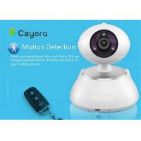 SD Card Storage Wireless IP Security  Camera Email Alarm Remote Pan / Tilt  Control Manufactures