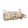 DIY School Villa Hospital Plastic Building Blocks For Kids Toys 100% Non - Toxic for sale