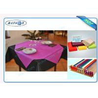 Slices / Rolls Packed Non Woven Polypropylene Tablecloth for Catering Business Manufactures