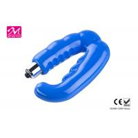Adjustable Multispeed U Shape Vibrator , Soft Rubber Stretchy Erotic Male Sex Toys Manufactures