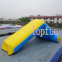 Inflatable Amusement Water Slide Games For Kids And Adults 0.9mm Pvc Tarpaulin Manufactures