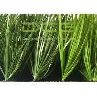 C Shape Artificial Grass Football Turf Lawn For Garden Decoration Fade - resistant Manufactures