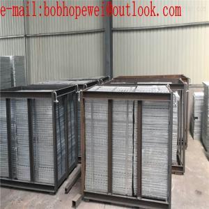 steel grating/galvanized steel grating weight/steel grating standard size/building materials q235 galvanized steel grati Manufactures