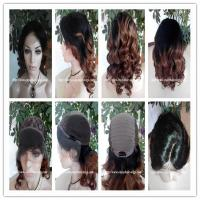 Buy cheap 100% Human hair lace front wig indian remy hair,120%-180% density,T1b#/30#color. from wholesalers