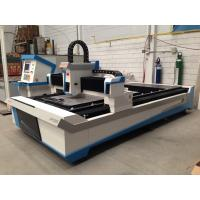 High speed and high precision CNC fiber laser cutter , steel laser cutter Manufactures