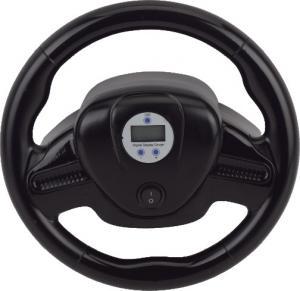 China Smart Digital tire shape car Vehicle air compressor Steering Wheel 12V Plastic on sale