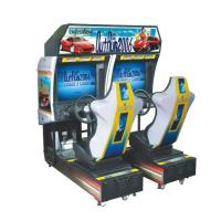 China Double Player Car Racing Arcade Machine , 29 Inch Driving Arcade Machine on sale