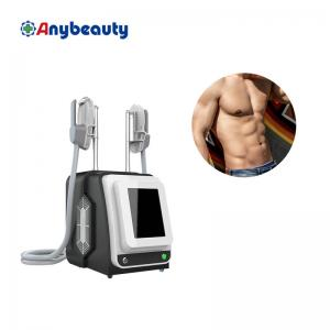 Electric Muscle Stimulator Body Sculpting Abs Ems Machine 2 Handle Manufactures