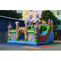 Outdoor Kungfu Panda Bouncy Castle Obstacle Course Inflatable Sport Games For Kindergarden Manufactures