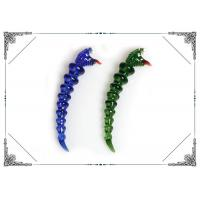 Colorful Hand Blown Snake Glass Dabber Smoking Water Pipe Accessories Manufactures