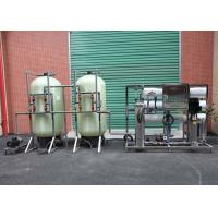 Stainless / Carbon Steel Industrial Reverse Osmosis Equipment With 3T/H Capacity Manufactures