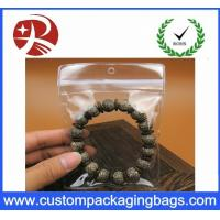 Customized Plastic Transparent Pvc Bag For Small Jewelry , 5*7cm Manufactures