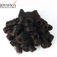 Newest product 2016 Qingdao Joywigs 10A Grade Unprocessed Indian Virgin Human Hair Natural Colour Nigerian curly Hair Weft Manufactures