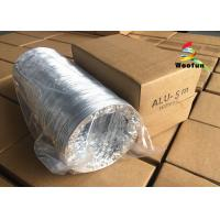 HVAC System Range Hood Exhaust Duct Double / Single Aluminum Foil With Fire Resistant Materials Manufactures