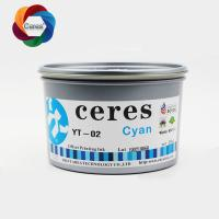 2020 Ceres hot sale and high concentration YY03 offset printing ink Manufactures