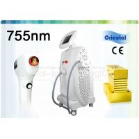China 755nm Alexandrite Laser Hair Removal Machine With Contact Sapphire Cooling Spot on sale