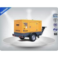 Brushless Portable Mobile Generators Trailer Mounted Class H Insulation Manufactures