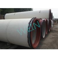 ISO9001 Ductile Iron Jacking Tube Anti Corrosion For Water Supply / Drainage Manufactures