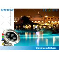 3W 82*120  SAL062A3 LED Underwater Pool Light Life Span >50000 Hours Stainless Steel Housing Manufactures