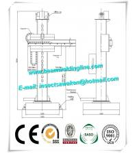 Pipe Turning Roller Welding Manipulator , Welding Column Boom Manipulator Manufactures