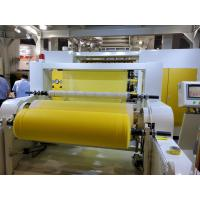 S SS SMS Spunbond Nonwoven Fabric Making Machine , Non Woven Machinery Only Need 7 Days To Install Machine In Customer Manufactures